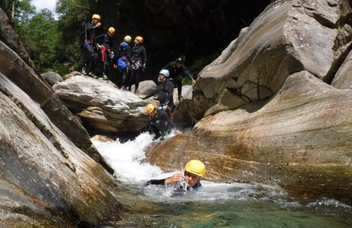 Val Bodengo Canyoning