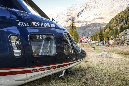 ALPS Lake Como Helicopter Service